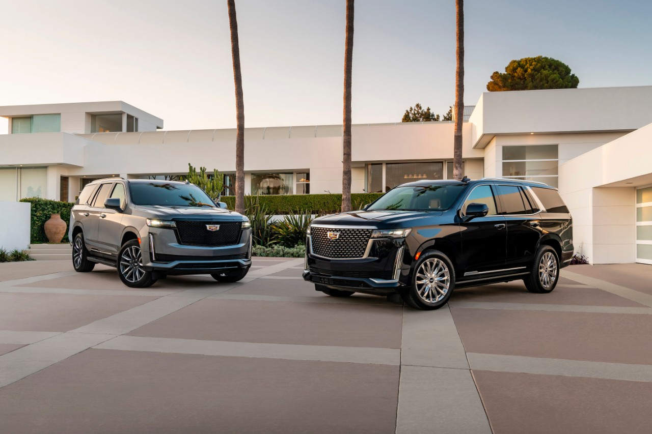 The 2021 Cadillac Escalade features two different personas for c